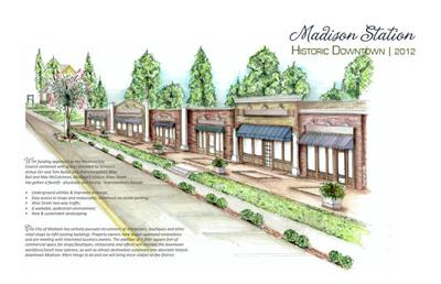 Rendering of Historic Downtown Madison Station