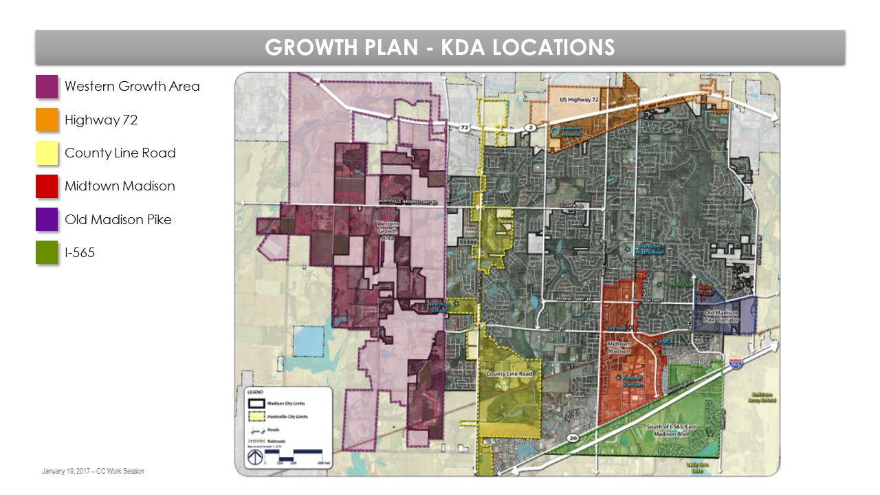 Growth Plan KDA Locations