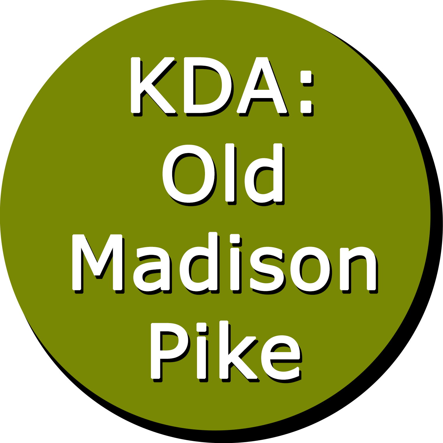 KDA: Old Madison Pike Button