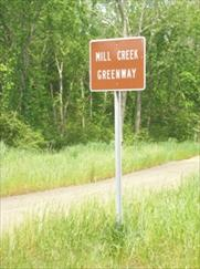 Mill Creek Greenway Sign