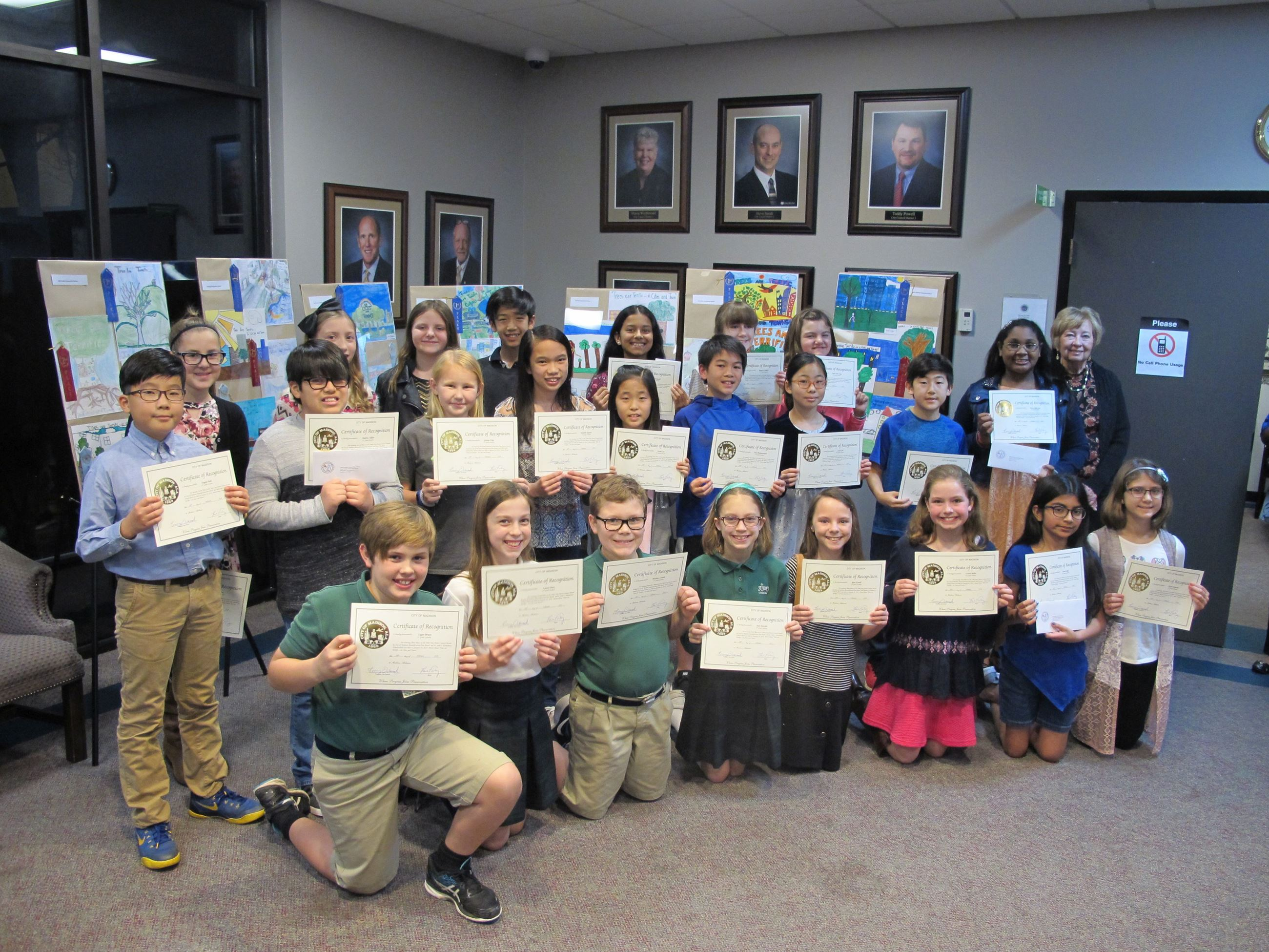 Arbor Day Poster Contest February 2018