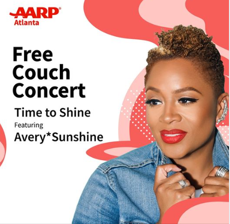 AARP Free Couch Concert