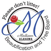 Please Don't Litter - Beautification and Tree Board Logo