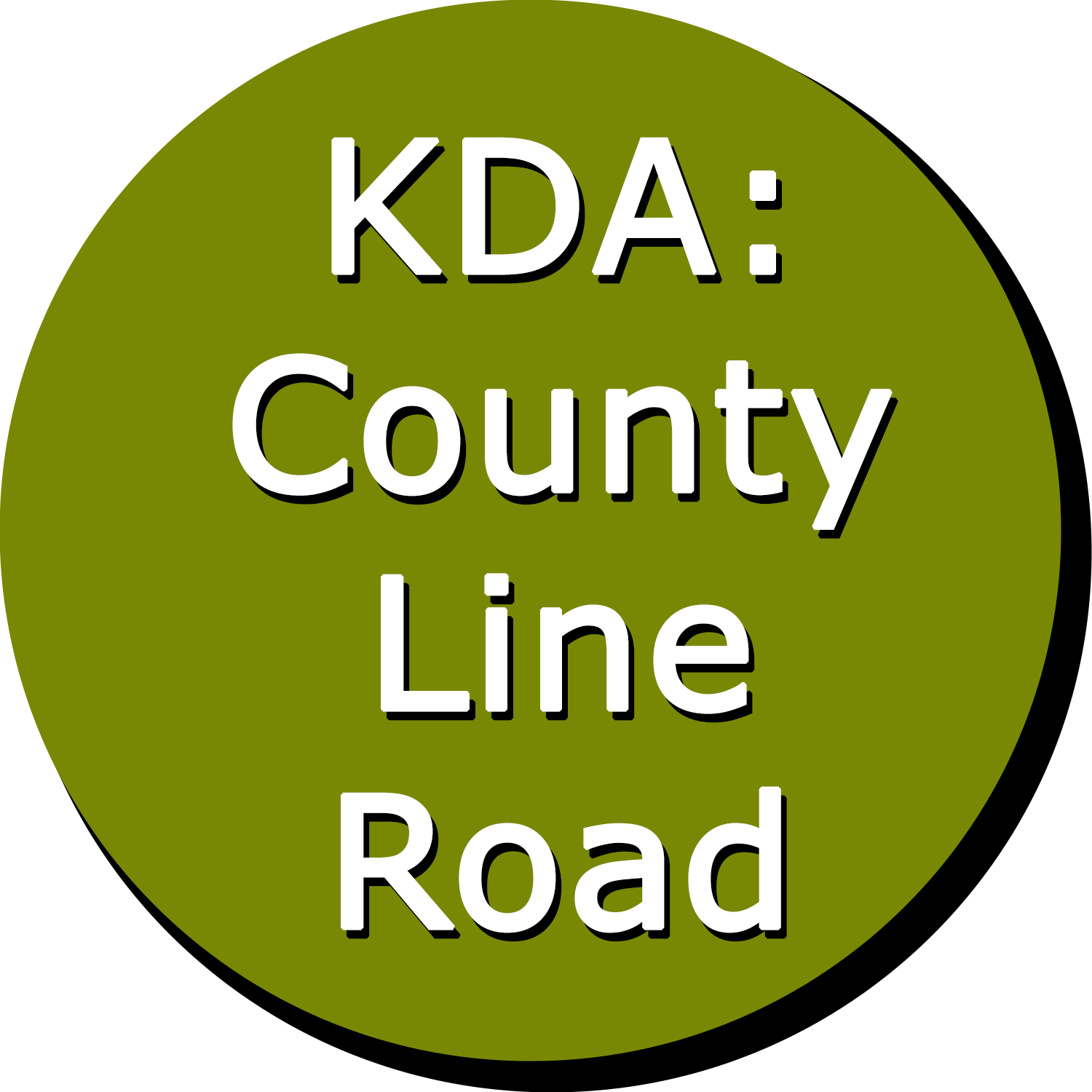 KDA: County Line Road Button