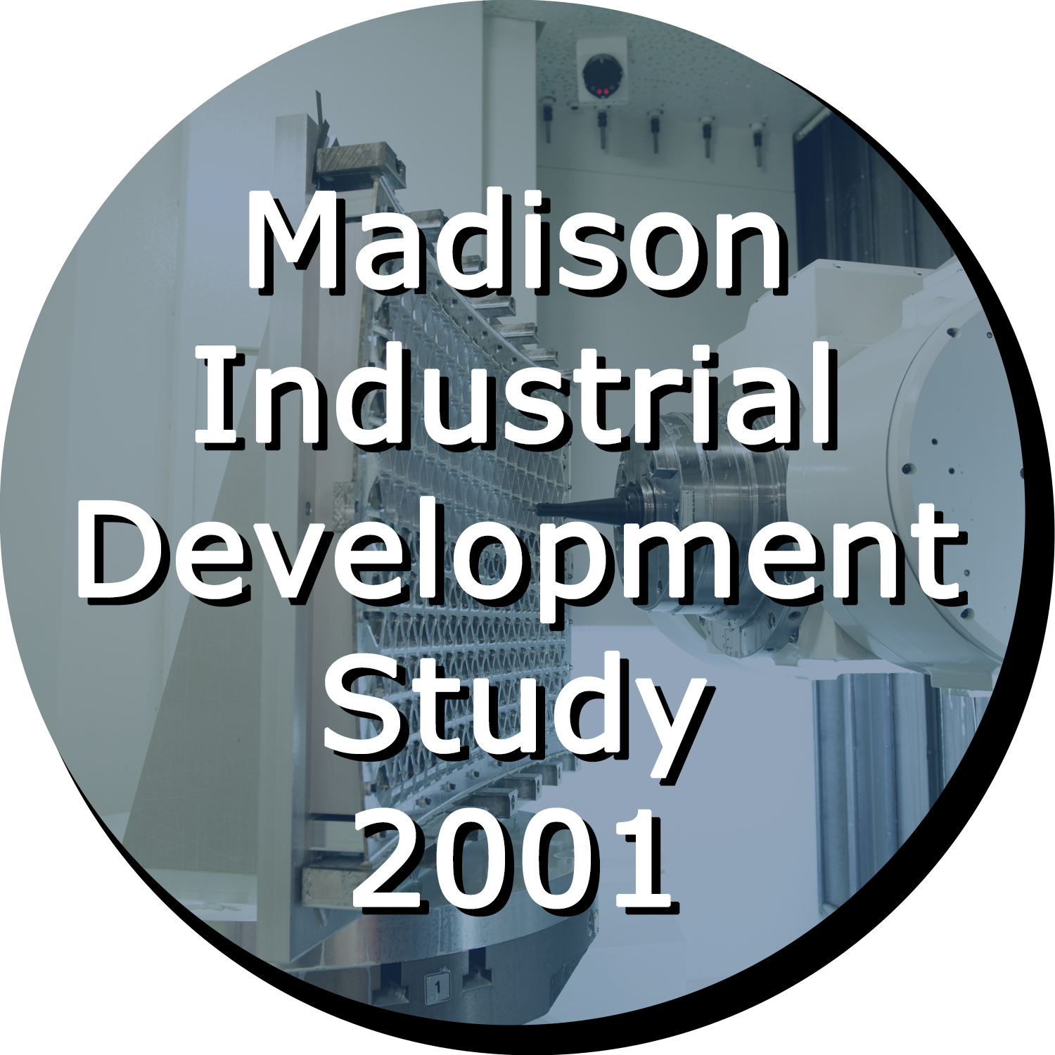 Madison Industrial Development Study 2001 Button