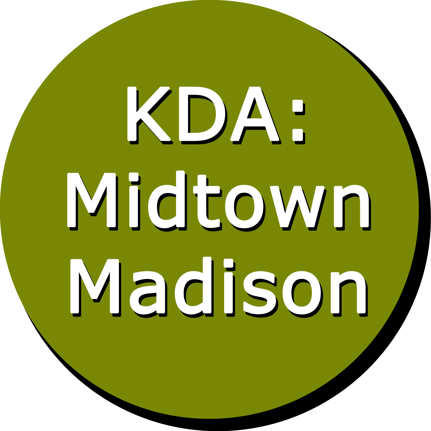 KDA: Midtown Madison Button