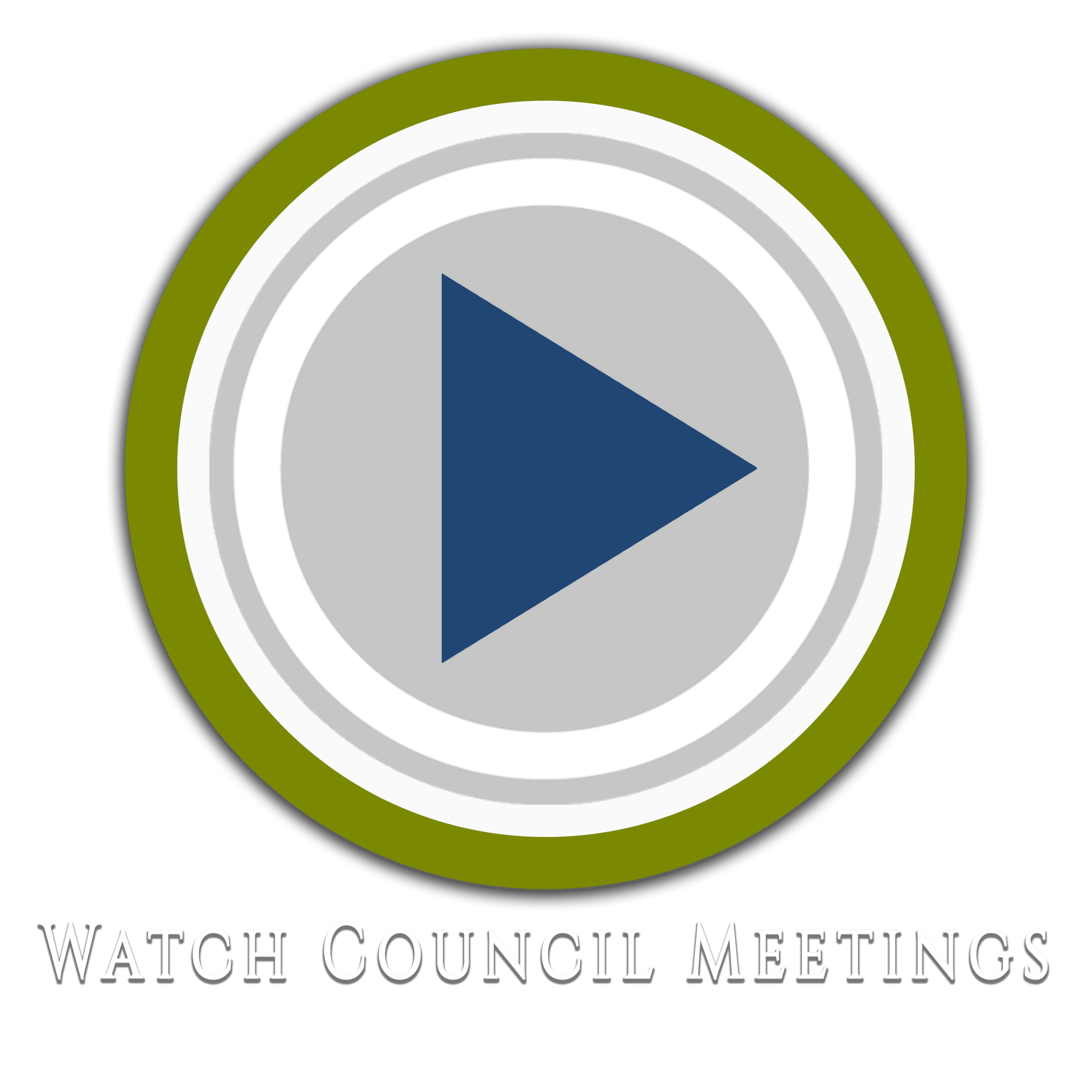 Watch Council Meetings Icon