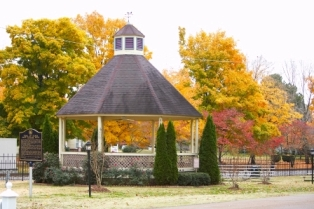DT Gazebo in Fall